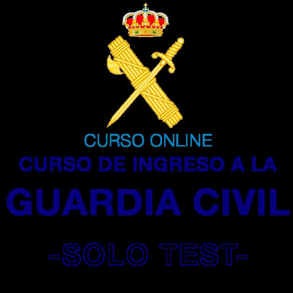 Curso online Guardia Civil