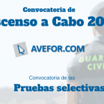 Convocatoria de ascenso a Cabo de la Guardia  Civil 2019
