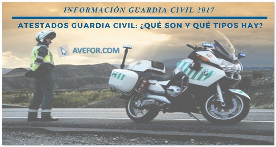 Atestados Guardia Civil