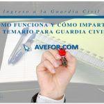 ¿Cómo funciona y cómo imparte el temario la Academia para Guardia Civil AVEFOR?