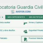 Convocatoria Guardia Civil 2018