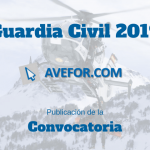Convocatoria Ingreso Guardia Civil 2019