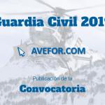 Convocatoria Ingreso Guardia Civil 2019