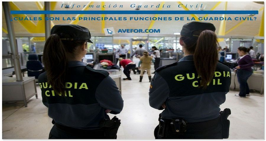 funciones guardia civil