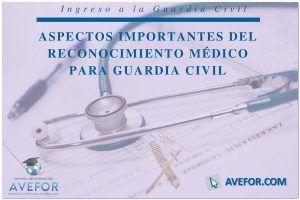 Reconocimiento Médico Guardia Civil