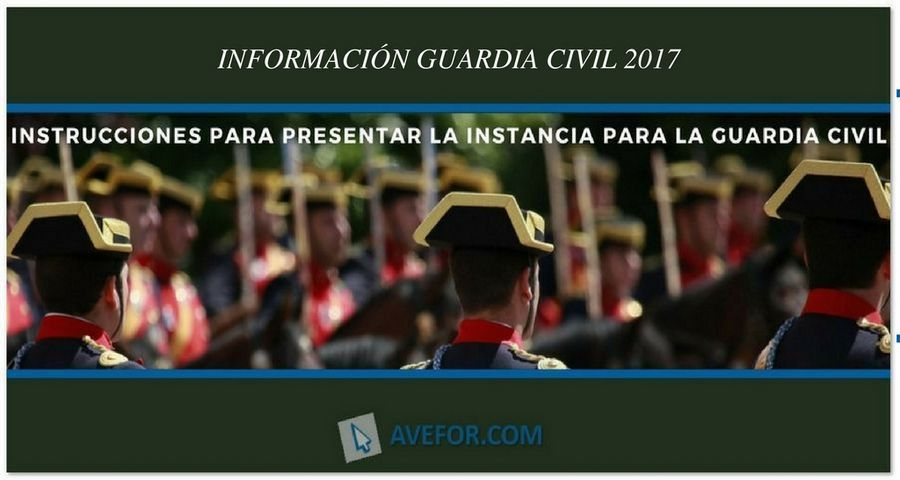 Instancia para la Guardia Civil