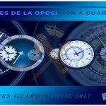 Las 5 fases de la oposición a Guardia Civil