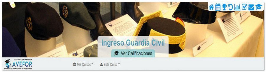 Oposiciones Guardia Civil 2018 Campus AVEFOR