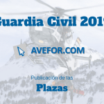 Plazas para Guardia Civil 2019