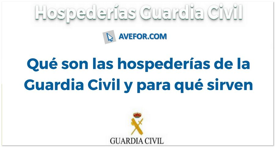 hospederías de la Guardia Civil