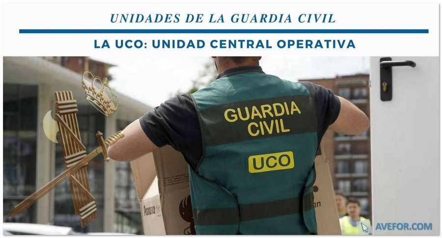 unidades de la Guardia Civil