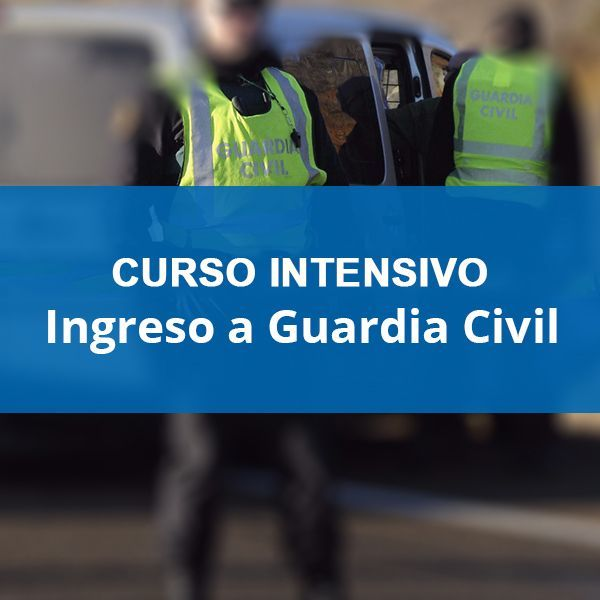 Cursos Guardia Civil