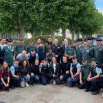 120 alumnos de la Guardia Civil finalizan su formación en la Escuela de la Gendarmería de Dijon