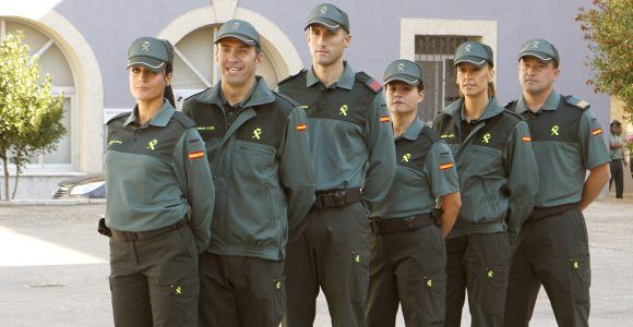 uniforme Guardia Civil