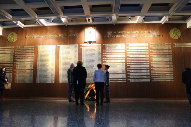 Inauguración Memorial