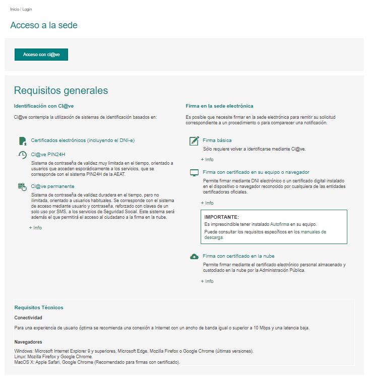 Instancia Guardia Civil: acceso 2021-2022