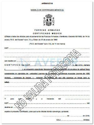 7ca559b6e Aspectos importantes del reconocimiento médico para Guardia Civil ...